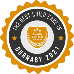 Best Child Care in Burnaby Award